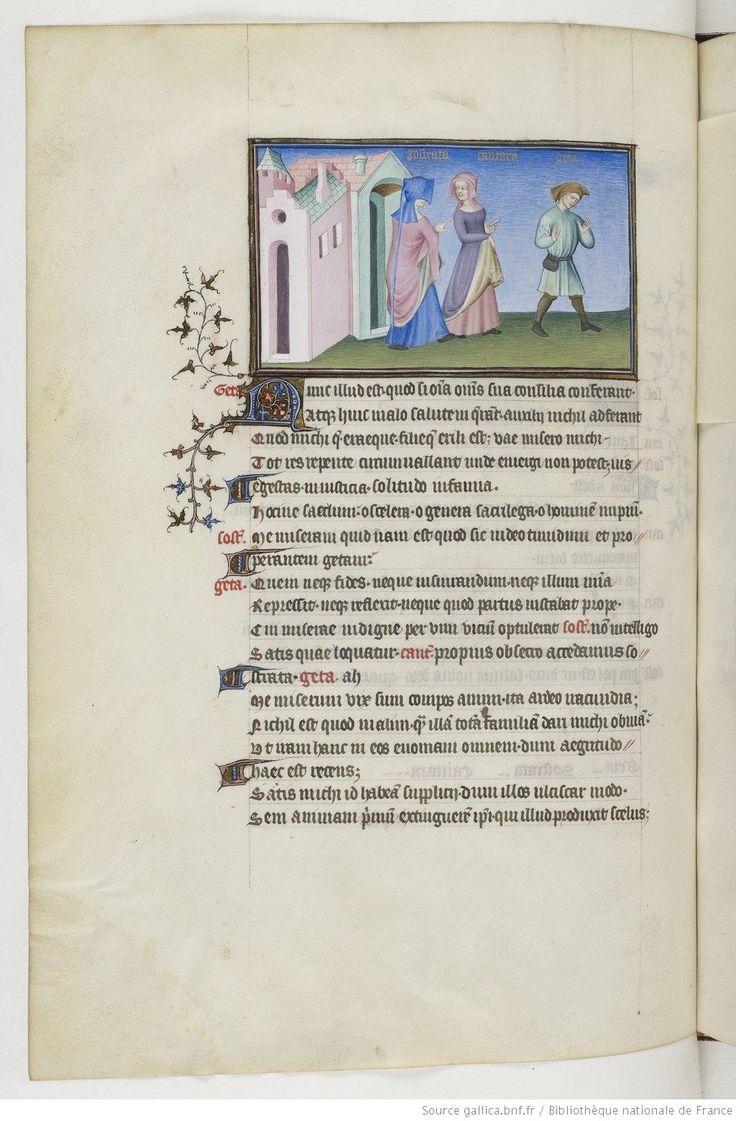 Publius Terentius Afer, Comediae 1400-1407 (Français 301) 81v