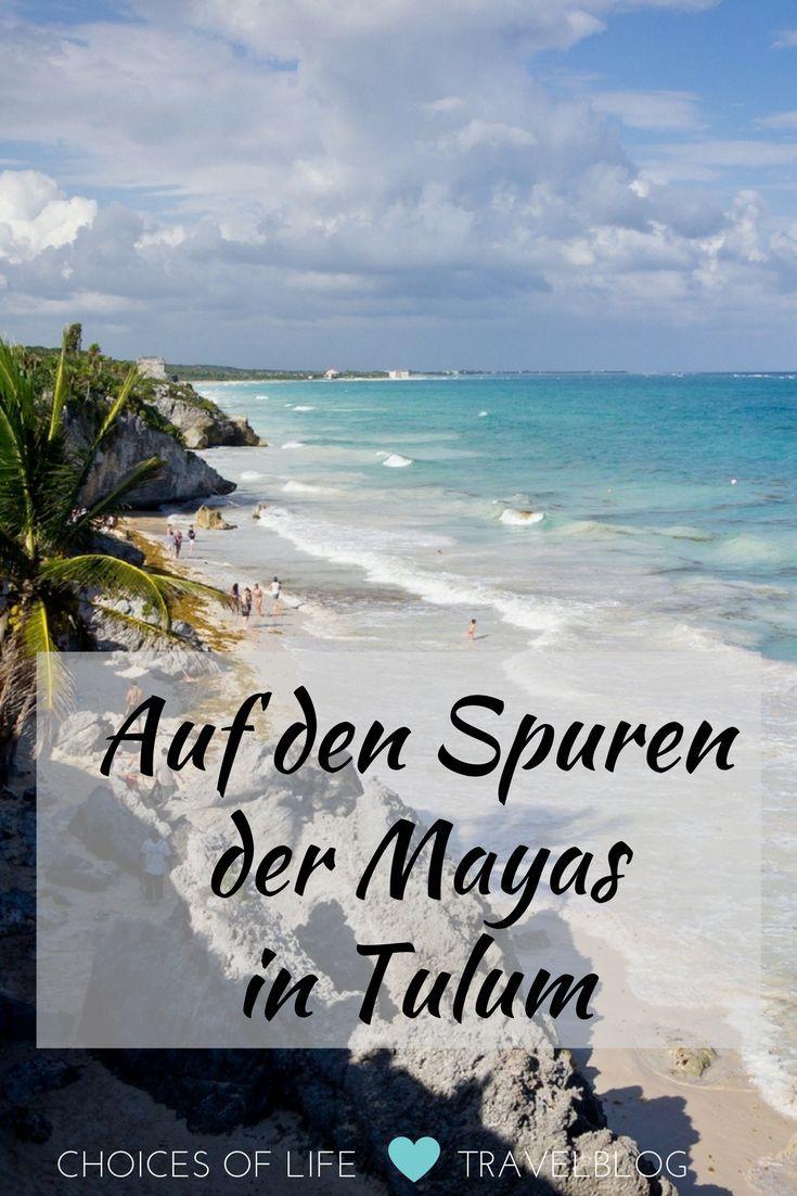 Auf meiner Yucatan Rundreise ist Tulum für mich mein persönliches Traumziel und absolutes Muss! 😍 Weiße Karibikstrände, türkisblaues Meer, eine tolle Innenstadt und die faszinierende Ruinenstätte der Mayas.  Tulum ist ein Ort, den man unbedingt besuchen sollte. Der Ort liegt an der so genannten Riviera Maya, einem Küstenstreifen an der Karibikküste von Mexiko im Bundesstaat Quintana Roo.