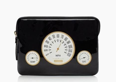 just swap miles per hour for words per minute — the odometer mini ipad    sleeve by kate spade new york (april 2014)