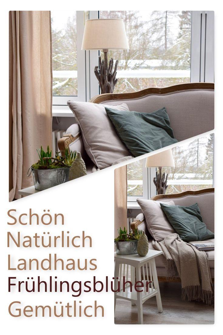 Dekoidee Landhausstil. Gemütlich schön dekorieren mit natürlichen Farben und …  – German Blogger *Interior*