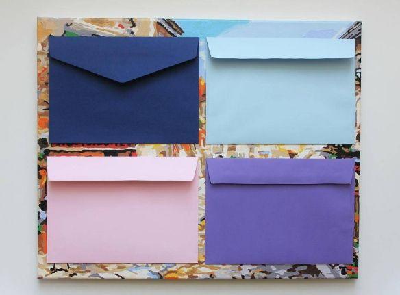 Эксклюзивные конверты из Великобритании для ваших свадебных приглашений.