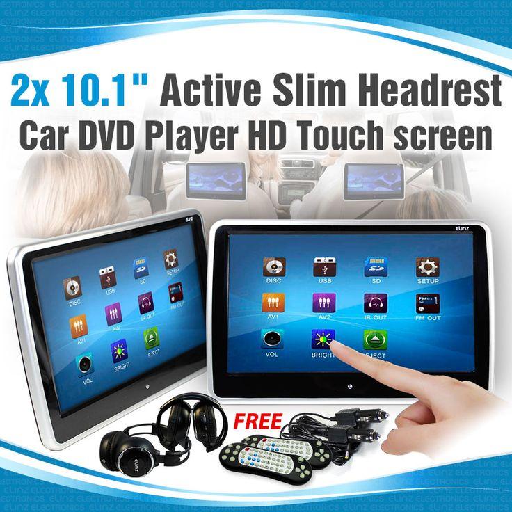 10.1 inch Car Headrest DVD Player HD Touch screen monitor | Elinz
