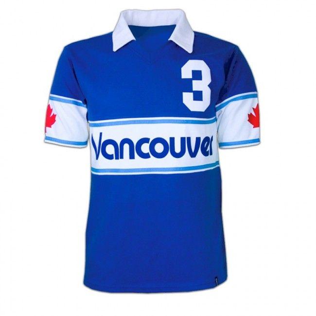 Vancouver Whitecaps voetbalshirt 1980 Canada retro voetbal truitje football soccer vintage sport COPA