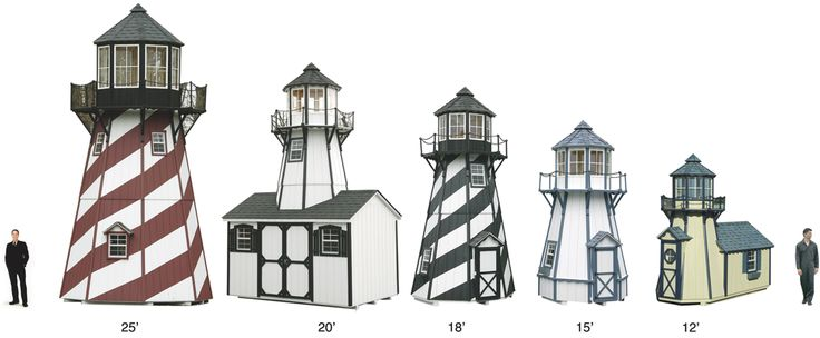 Lighthouse Playhouses - North Country Sheds | Shed storage ...