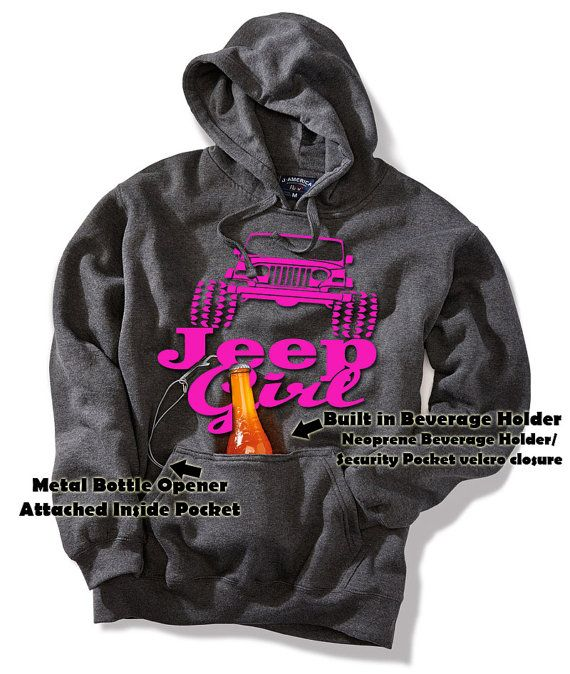 JEEP GIRL beer Tailgate Beverage BEER by DaddyRabbitGraphics