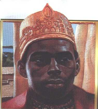 King Dom Affonso I became King of Kongo in 1506 AD. Like many Africans who became Christians, he was baptised with a Portuguese name.