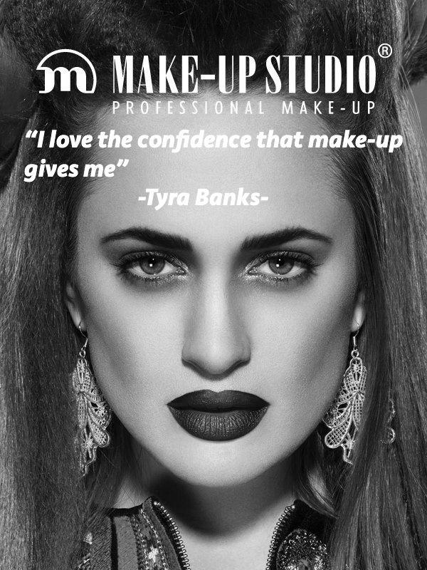 Quote of American supermodel Tyra Banks #makeupstudio #quote #confidence #tyrabanks