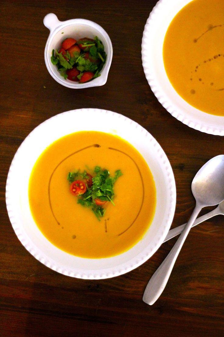 As Minhas Receitas: Creme de Cenoura com Caril