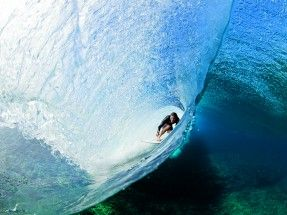 As Above, So Below: From the #BigIssue, Danny Fuller and Zak Noyle bring us a new perspective on Teahupoo. #SURFER #SURFERPhotos
