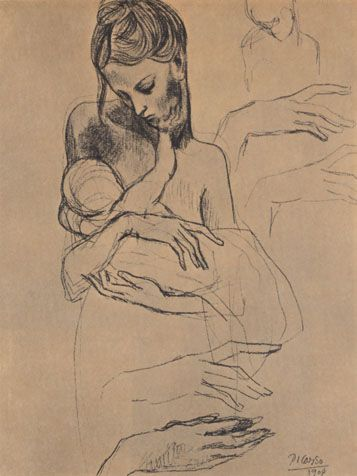 Babymine: Picasso Kids, Mothers And Child, Mothers Mary, Canvas Lynda, Picasso Drawings, Vintage Mothers, Picasso Prints, Pablo Picasso