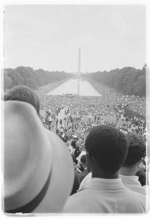 The March on Washington, Warren K. Leffler, August 28, 1963.