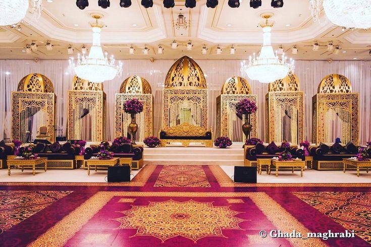 Royal Arabic Wedding by Ghada Maghrabi Ahazeej - Petals