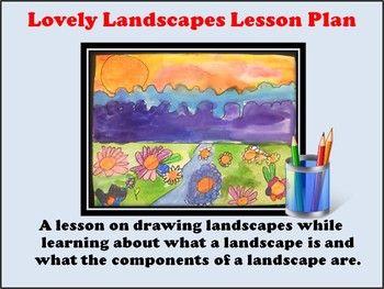 Elementary Art Lesson - Lovely Landscapes