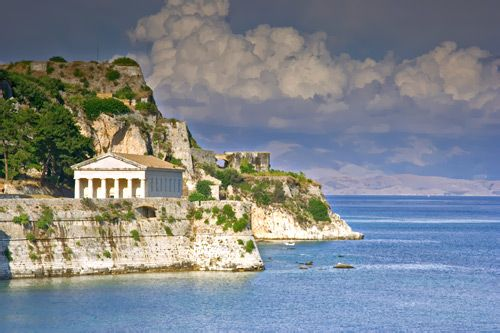 The Old Fortress (Palaio Frourio), Corfu