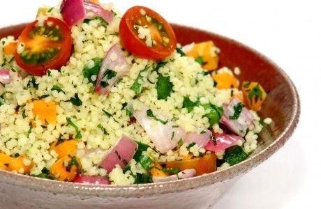 Salada de couscou marroquino