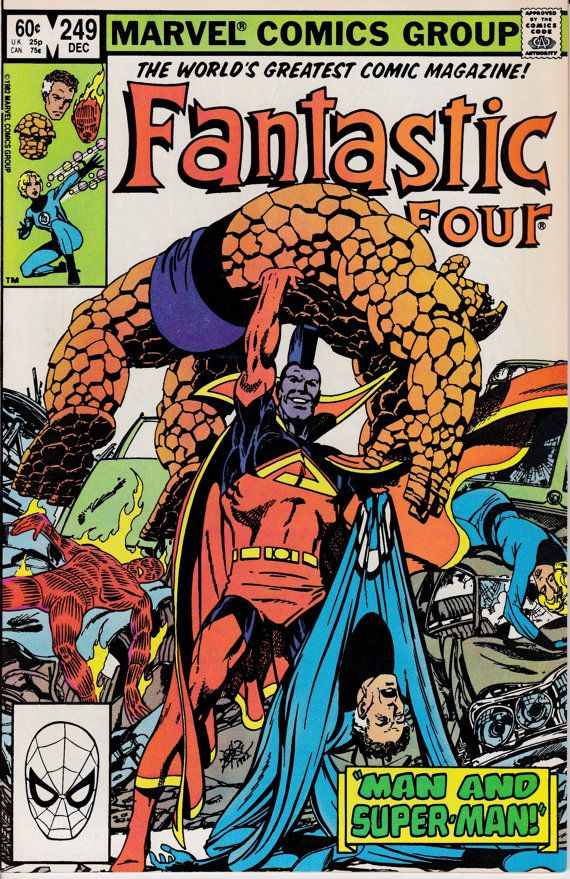 Fantastic Four 1961 1st Series 249 December 1982 by ViewObscura, $4.00