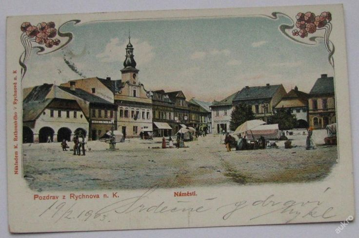 Rychnov nad Kněžnou 1903 (5978213990) - Aukro - největší obchodní portál