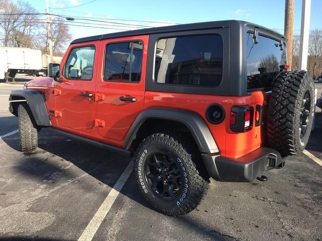 2020 Jeep Wrangler Willys Jeep Wrangler Jeep Chevrolet