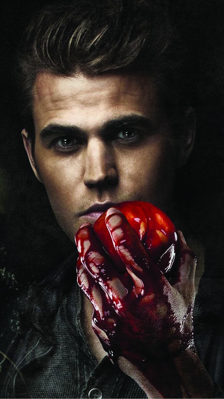 Stefan Salvatore Paul Wesley Vampire Diaries Android Wallpaper.jpg (1080×1920)