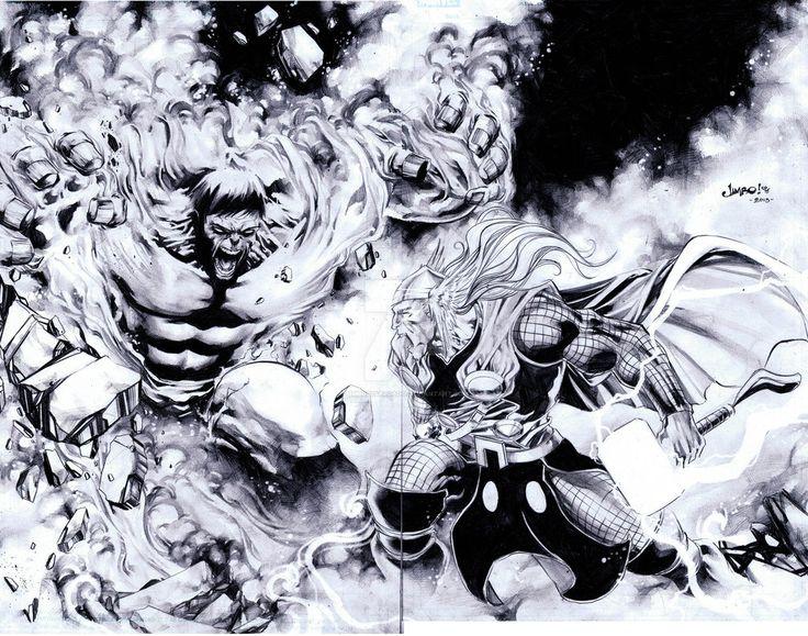 165 best Lineart Hulk VS  images on Pinterest  Comic art Hulk