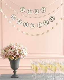 CUTE! I used this to make my co-worker's going away banner.: Banners Templates, Banners Letters, Letters Templates, Alphabet Templates, Vintage Typewriters, Bridal Shower, Wedding Banners, Martha Stewart Wedding, Diy Wedding
