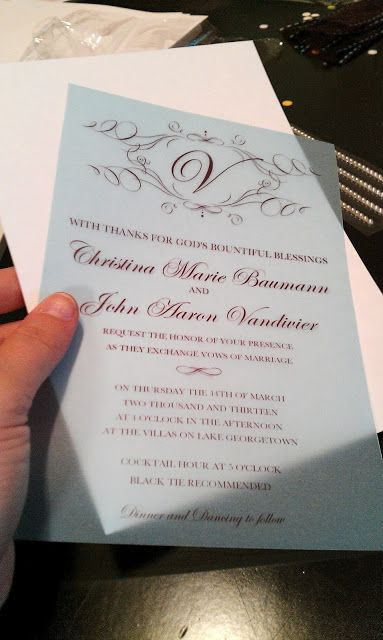 Preferred Transparent Wedding Invitations GL11 Advancedmassagebysara