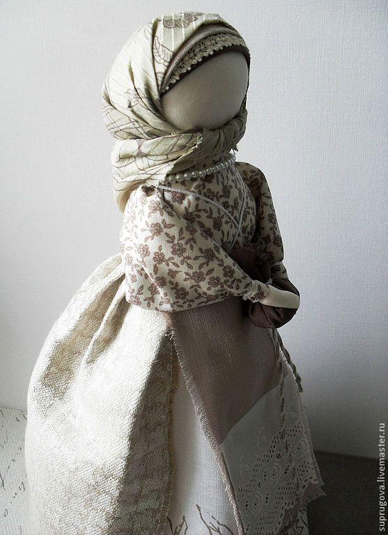 """""""Берегиня дома"""" - серый,берегиня,русская кукла,русская традиция,русский народный костюм"""