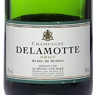 """New York Times #1 Bottle!  """"Our No. 1 bottle, for example, the Delamotte nonvintage, was wonderfully elegant and fresh, with the sort of finesse and understated complexity I love in good blanc de blanks."""" from """"A Toast to Versatility"""" by Eric Asamov"""