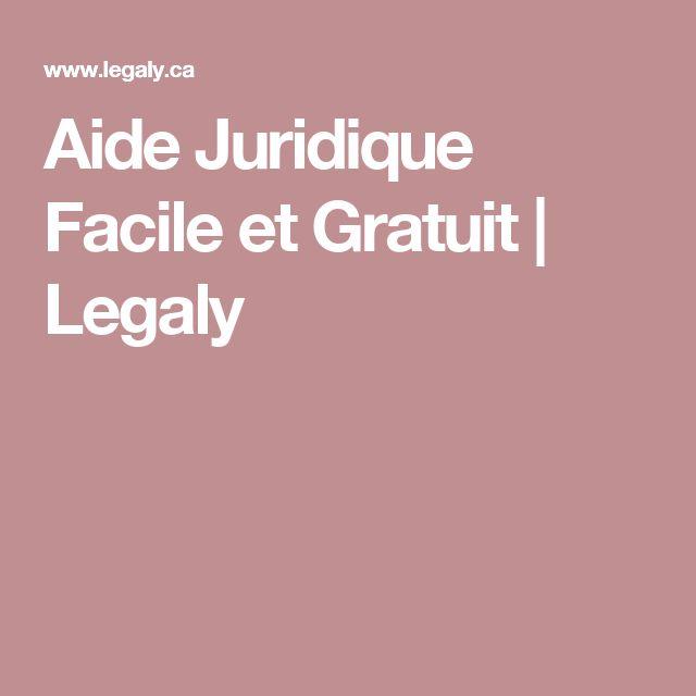 Aide Juridique Facile et Gratuit | Legaly