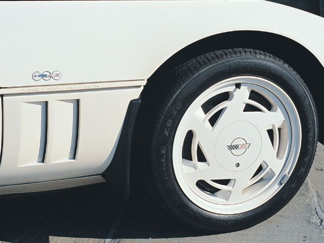 1988 Corvette 35th Anniversary Parts | 1988 Chevy Corvette Z01 Custom Rims