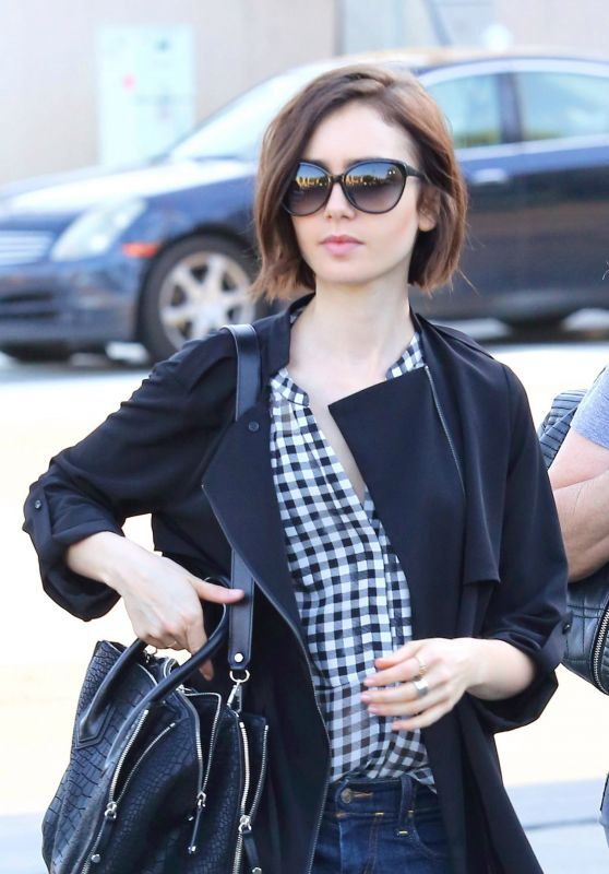 Lily Collins - Out in Beverly Hills, 3/17/2016