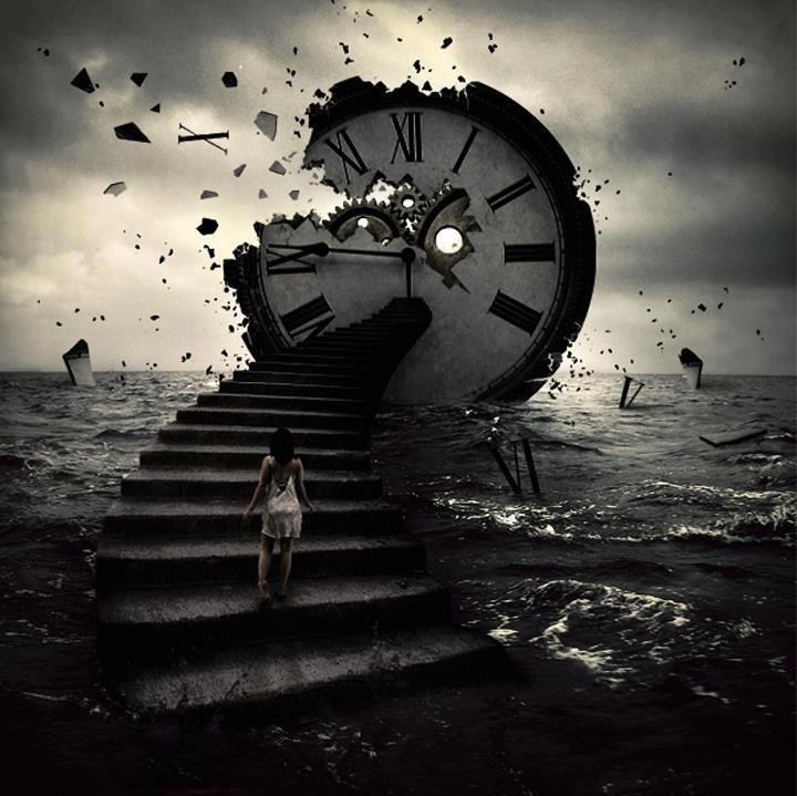 Quando o tempo decide apressar se eu quero tanto q