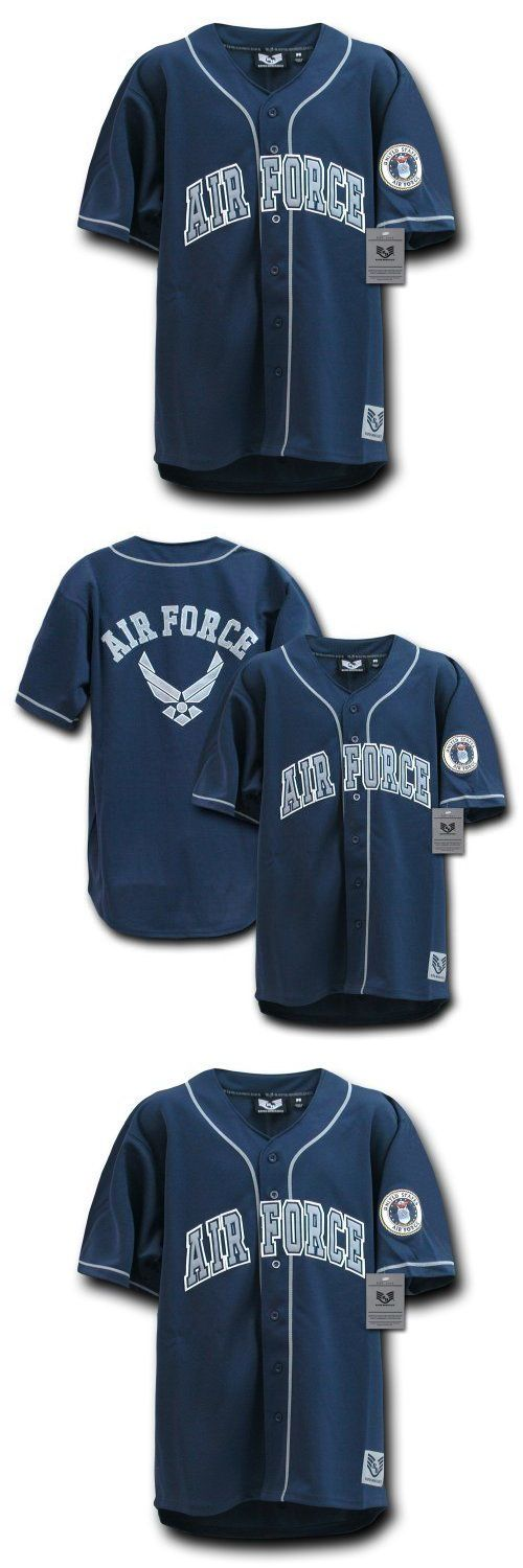 Baseball Shirts and Jerseys 181342: Rapiddominance Air Force Baseball Jersey Navy X-Large, New -> BUY IT NOW ONLY: $133.17 on eBay!