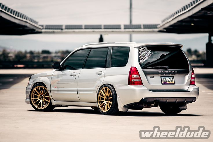 Wheels: 18×9.5 Rota PWR - Gold(5×100/e38/73) Tires: 235/40/18 Suspension: Ohlins Coilovers