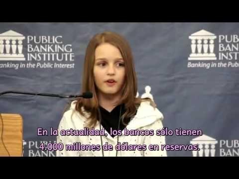 Una niña de 12 años nos explica la estafa financiera
