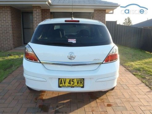 2008 Holden Astra AH 60th Anniversary MY08.5