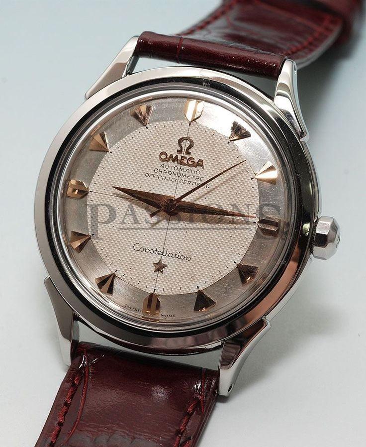 "Omega C.1956 Constellation Chronometer ""Pie-pan"" dial in Steel"