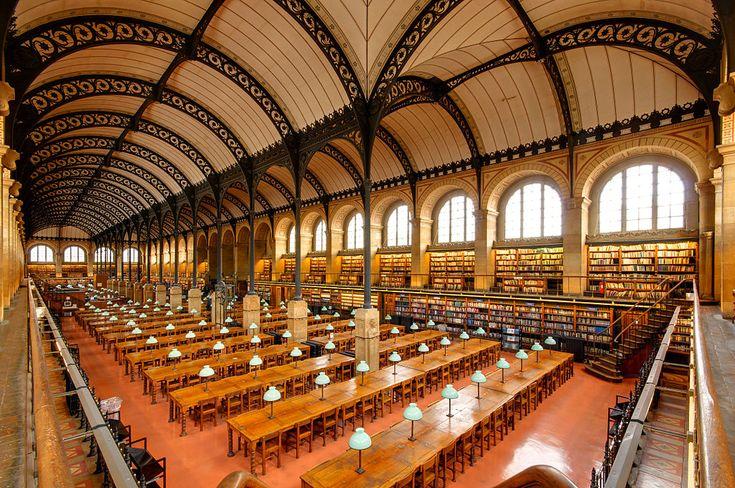 La bibliothèque Sainte-Geneviève (BSG)
