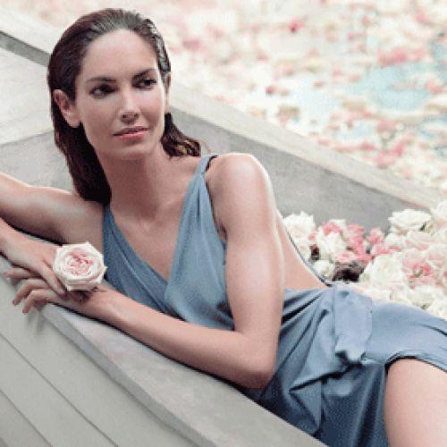 Eugenia Silva, imagen de Agua Fresca de Rosas