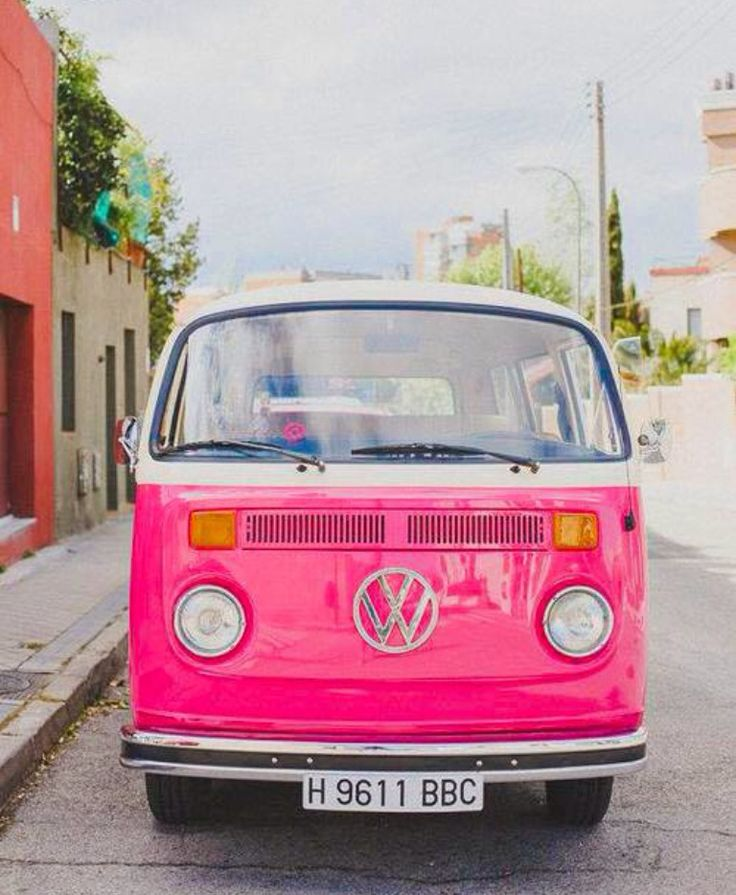 I love this van and when it comes in pink I am speechless