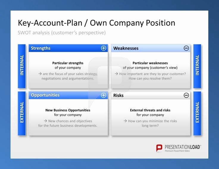 30 Account Plan Template Ppt In 2020 Business Plan Template