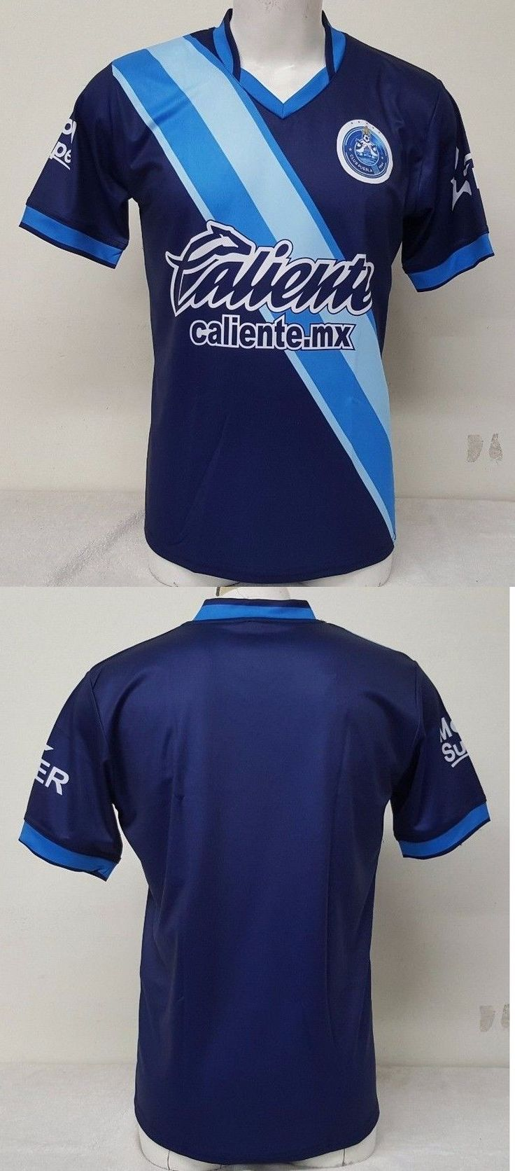 Soccer-International Clubs 2887: Puebla Fc Men S Away Soccer Jersey Made In Mexico -> BUY IT NOW ONLY: $30.39 on eBay!