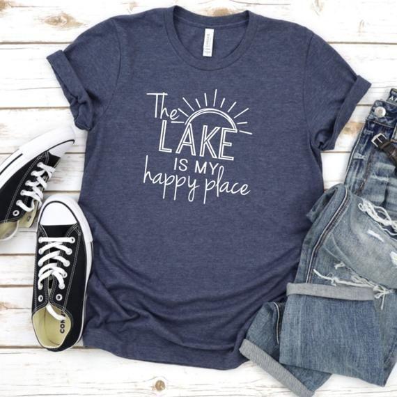 Personalized Lake T-Shirt   4 Reviews   4.75 Stars