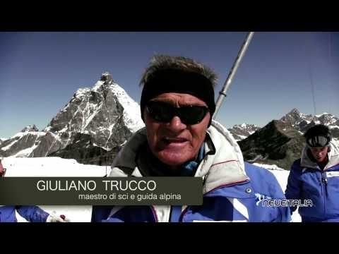 Neveitalia team è sul ghiacciaio di  Cervinia per provare gli sci. Che panorami!