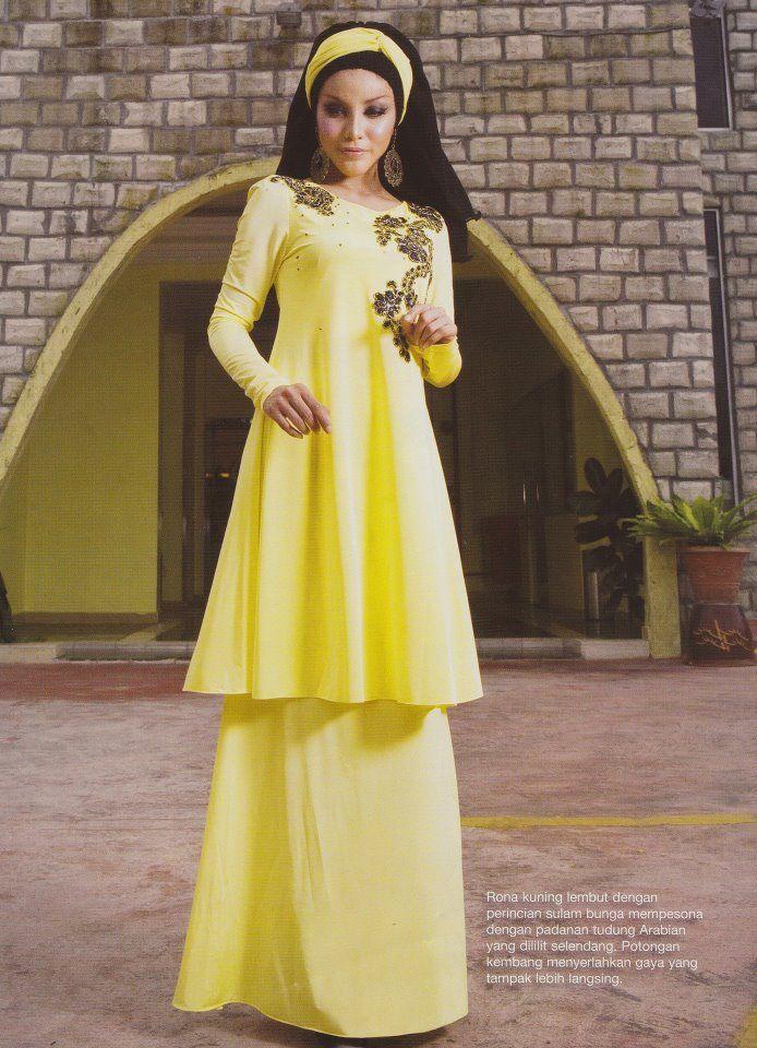 Princess cut -soft yellow RM199 | Dress Design & Idea