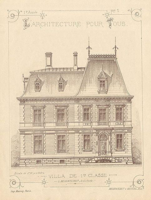 Vintage French Architecture Archi Pour Tous Pl1