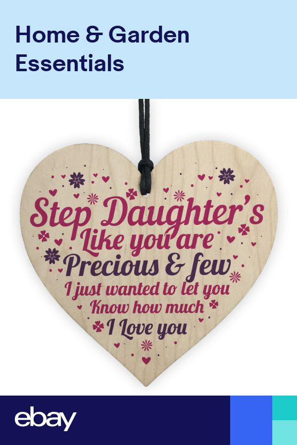 Step Daughter Birthday Christmas Card Gift For Daughter ...
