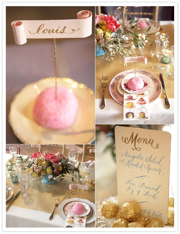 Love this Pink and Gold and Glitter!
