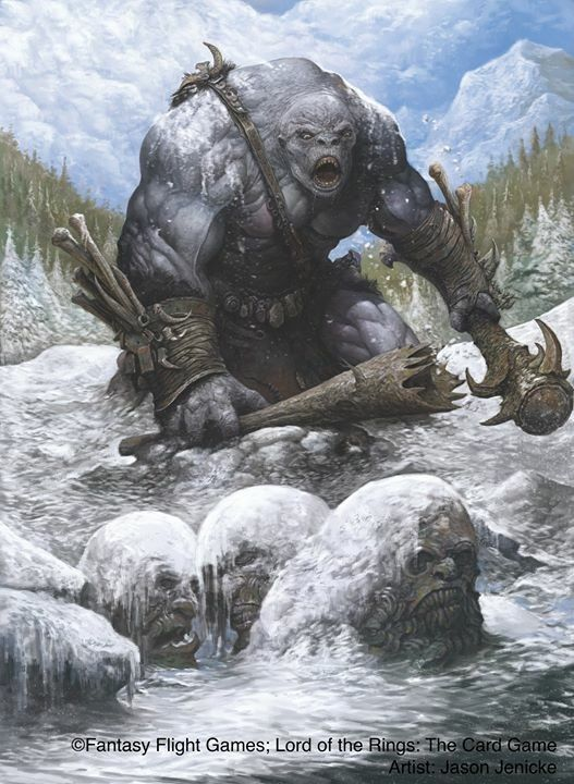 m Troll Club mountains rough conifer forest winter frozen pond (457)