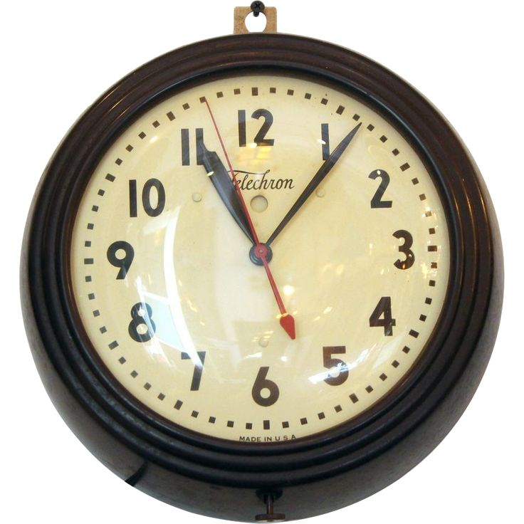 Vintage Telechron wall clock 87 best Vintage